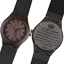 Engraved Watches for Son - Engraved
