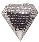 Extra Large Silver Diamond Pinata Wedding Party Favor