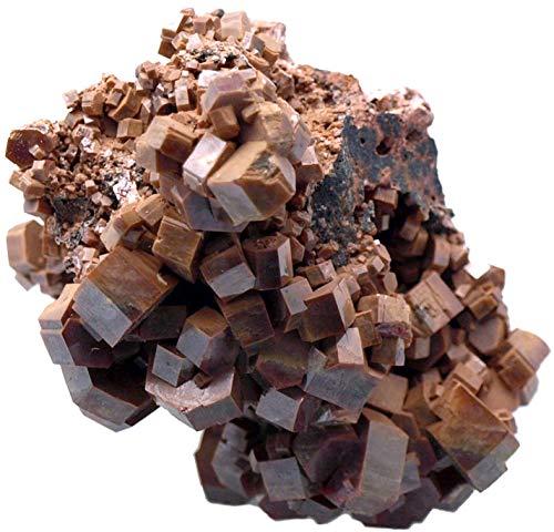 Emovendo Vanadinite - Crystal Cluster Specimen - 2 x 1.9 x 1.9 inch - 219 ()
