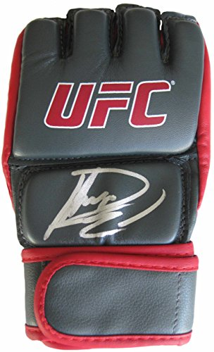 Autographed Ufc Glove - Rashad Evans, Mma, Signed, Autogrpahed, UFC Glove, a COA with the Proof Photo of Rashad Signing Will Be Included..