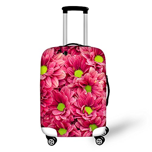 FOR U DESIGNS 22-25 inch Fashion Pink Luggage Protective Cover American Tourister Elastic