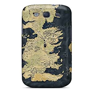 Tpu Cases Covers Compatible For Galaxy S3/ Hot Cases/ Map Game Of Thrones
