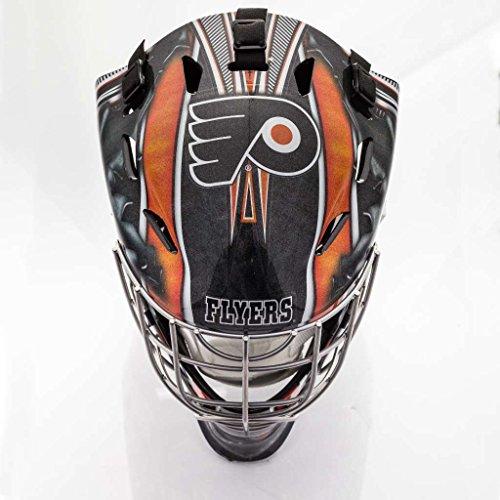 Franklin Sports NHL Calgary Flames GFM 1500 Goalie Face Mask ()