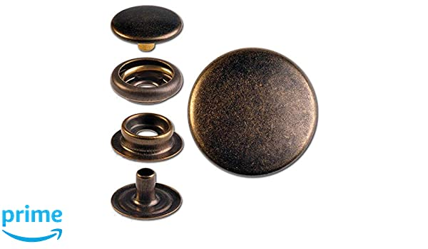 15 Anillo Muelle de botones de presión
