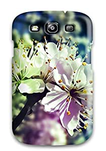 Flexible Tpu Back Case Cover For Galaxy S3 - Blossom