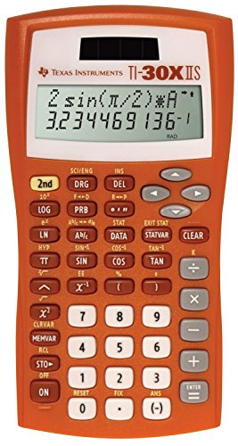 Texas Instruments 30XIIS Scientific/Math Calculator - Orange by Texas Instruments