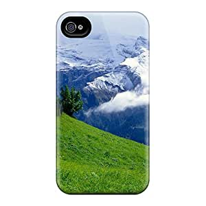 Happycases2005 Snap On Hard Cases Covers Green Over Clouds Protector For Iphone 6plus