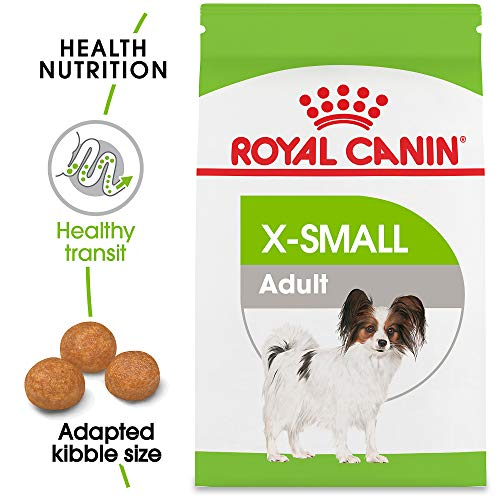 Royal Canin X-Small Adult Dry Dog Food, 2.5 lb. bag (Best Food For Toy Poodle)