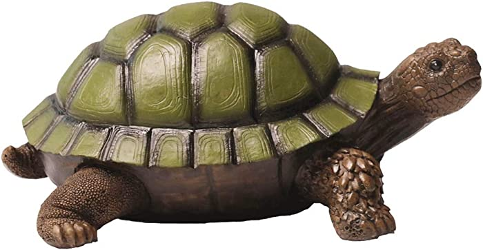 Nature's Rhythm Turtle Garden Statue Tortoise Outdoor Decor Garden Statue Courtyard Decoration