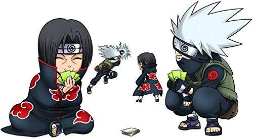 Clones no Jutsu Casquette Noire Naruto parodique Kakashi et Itachi Parodie Naruto