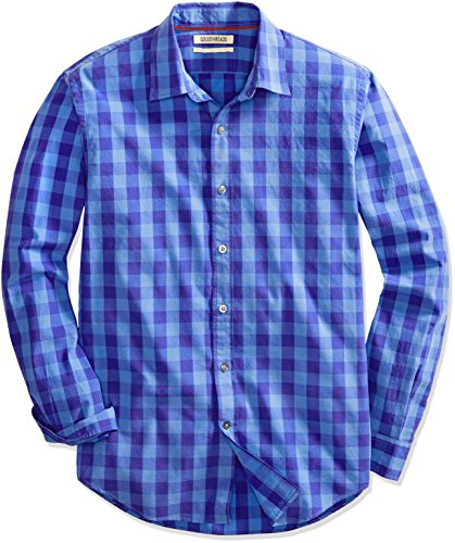 Goodthreads Men's Standard-Fit Long-Sleeve Gingham, used for sale  Delivered anywhere in USA