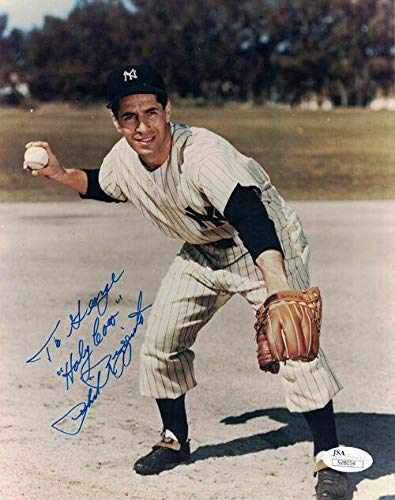 Autographed Phil Rizzuto Photograph - 8x10 To George 18774 - JSA Certified - Autographed MLB Photos