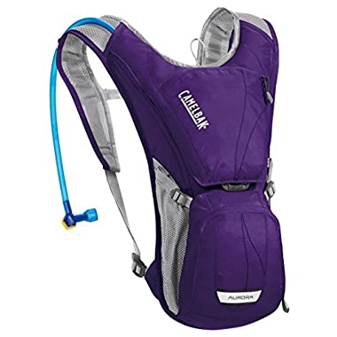 CamelBak Women's Aurora Hydration Pack, Parachute Purple/Blue Depths