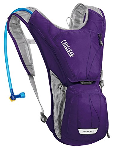 CamelBak Women's 2016 Aurora Hydration Pack, Parachute Purple/Blue Depths