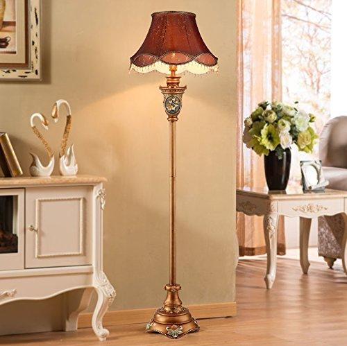 Beleuchtung Schlafzimmer Kreative Mode Luxus Eisen Retro Art Klassische dekorative Stehleuchte