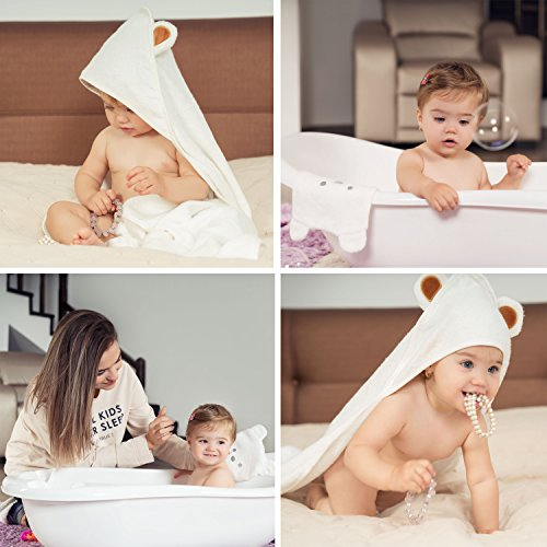 Review Large Hooded Baby Towel