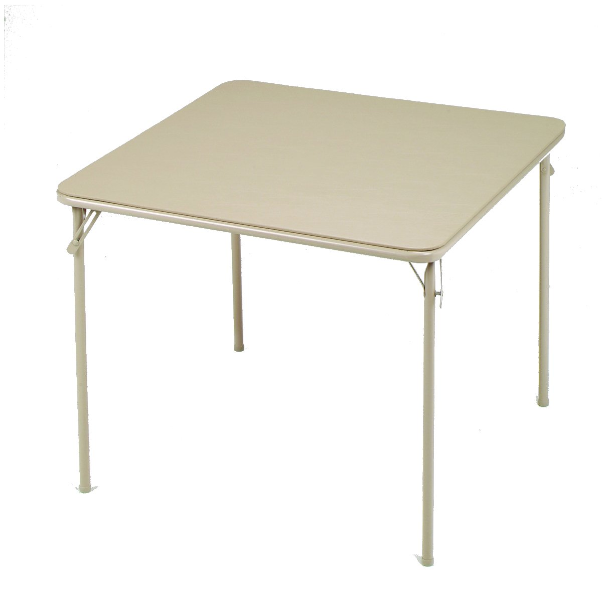 Delicieux Amazon.com: Meco Square Folding Table, 34 By 34 Inch, Buff: Kitchen U0026 Dining