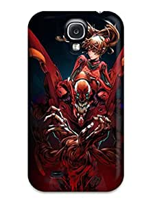 Durable Defender Case For Galaxy S4 Tpu Cover(neon Genesis Evangelion)