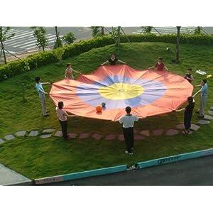 (Price/piece)Everrich EVC 0116 Concentric Circles Parachute 12' (3.5M)