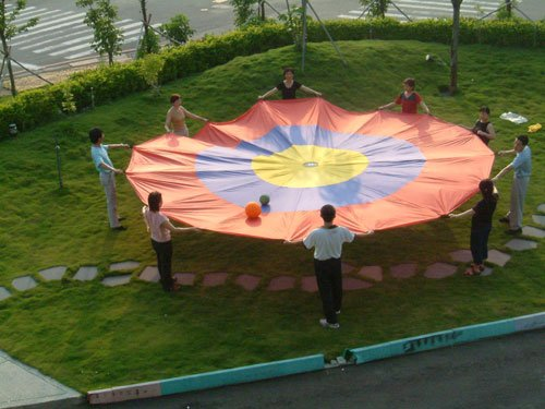 (Price/piece)Everrich EVC 0116 Concentric Circles Parachute 12' (3.5M)