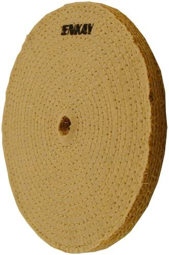 "Lot of 30 16/""x1 1//2/""  Arbor Hole Cloth /& Sisal 7-Ply Industrial Buffing Wheels"