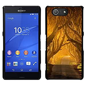 Pulsar Snap-on Series Teléfono Carcasa Funda Case Caso para Sony Xperia Z3 Compact , Summer Sun Freedom Road Nature
