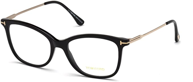 1f361796704ae Image Unavailable. Image not available for. Color  Eyeglasses Tom Ford FT  5510 -F 001 shiny black