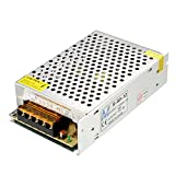 uxcell Switch Power Supply Driver S-60-12,AC 110V/220V to DC 12V 5A 60W for LED Strip Light