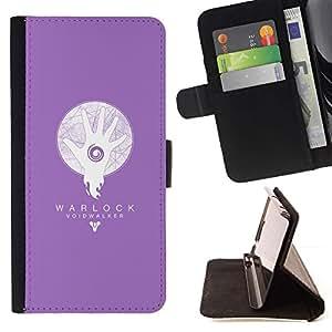 Momo Phone Case / Flip Funda de Cuero Case Cover - Warlock abisario;;;;;;;; - Sony Xperia Z1 Compact D5503