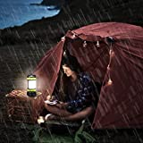 LED Camping Lantern, Rechargeable Portable