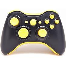 """Black/Yellow"" Xbox 360 Rapid Fire Modded Controller 35 Mode for BO2, BO3, Advanced Warfare, Destiny, Ghosts, MW3 Drop Shot Jump Shot Jitter (Black/Yellow)"