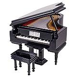 Broadway Gifts Black Baby Grand Piano Music Box