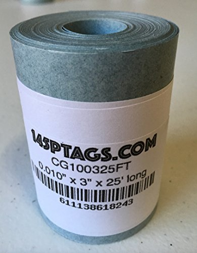 145P Tags CG100325FT Electrical Insulating Fish Paper, 3