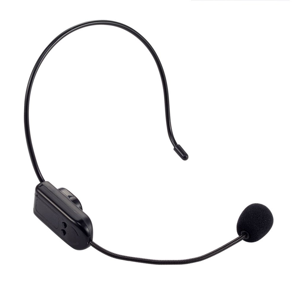Hands-free 30m FM Wireless Microphone Headset for FM Radio Stereo/Amplifier