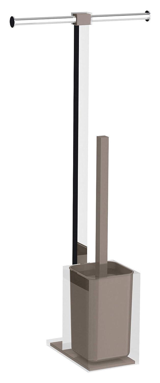 T/órtora Acero Inoxidable 25,7x16x58,8 Gedy Rainbow Columna de pie
