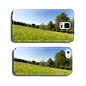 Flowery meadow in mountain cell phone cover case Samsung S5
