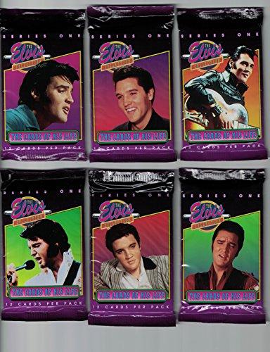 Elvis Presley / 6 Unopened Packs of Cards - 72 Cards Total!!!
