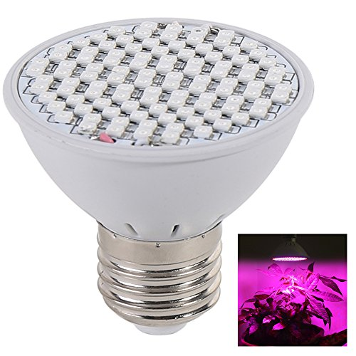 [Pack of 4] Lvjing 5W Led Plant Grow Light Lamp, E27 Base, 106pcs 2835SMD, Red, Blue LED, for Indoor Plants Garden Greenhouse Hydroponic System Kit, AC85~265V