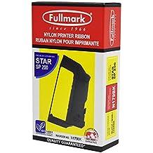 Fullmark N179BK Nylon Printer Ribbon compatible replacement for Star SP 200, RC200B, Black, 8-pack