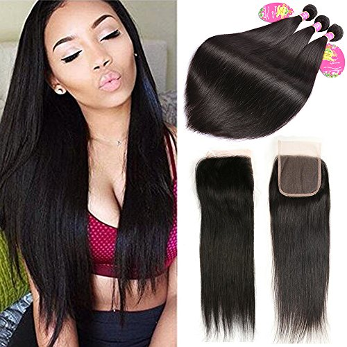 Beauty-Queen-Silky-Straight-Hair-3-Bundles-with-Lace-Closure-100-Real-Unprocessed-Mink-Brazilian-Virgin-Hair-Extensions-Natural-Color