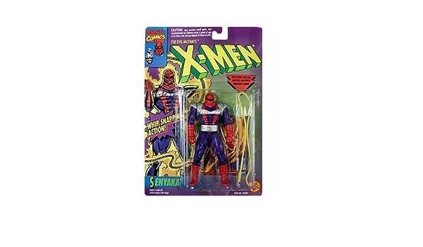 X-Men Senyaka Action Figure by Toy Biz (English Manual ...