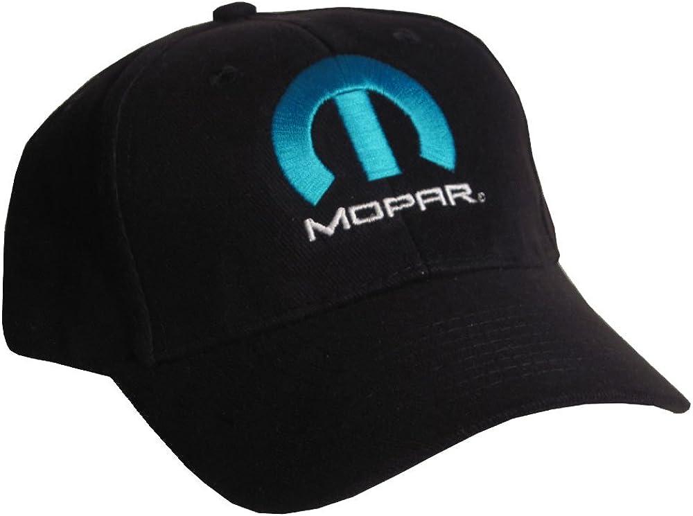 Bundle with Driving Style Decal 176BK Gregs Automotive Compatible Mopar Hat Cap Black