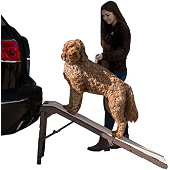 Pet Gear Free Standing Ramp for Cats and Dogs. Great for SUV's or use Next to your Bed. 4 Models to Choose from, Supports 200 lbs, Lightweight Easy-Fold Design