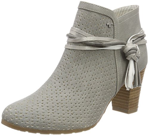 Tom Tailor Ladies 4890003 Stivali Grigio (grigio)