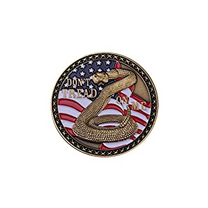 Coast Guard Don't Tread On Me Coin by Coins For Anything Inc