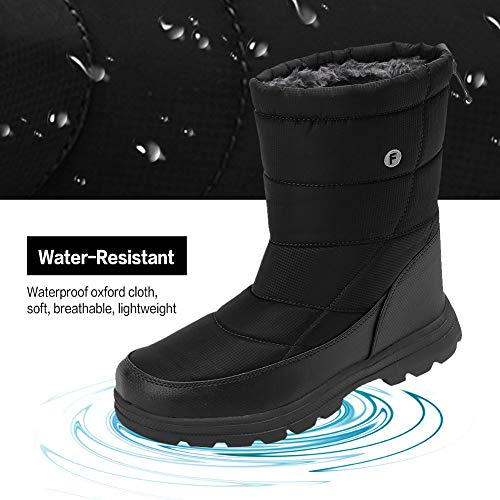 Pictures of Men and Women's Waterproof Snow Boot U118WXZ030 5