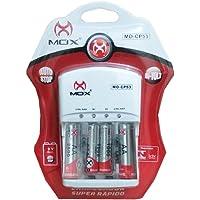 Carregador de Pilhas Mox MO-CP53