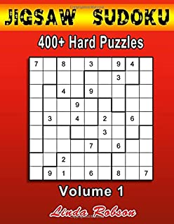 image about Printable Jigsaw Sudoku known as The Massive Guide of Jigsaw Sudoku: 400 Jigsaw Sudoku Puzzles