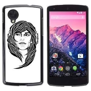YOYOSHOP [Cool Tattoo Illustration] LG Google Nexus 5 Case
