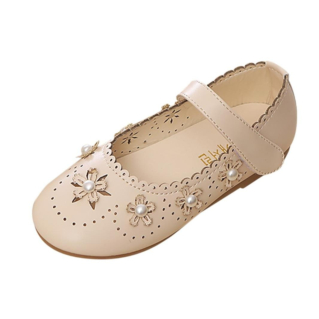 Amazon.com: FORESTIME_baby shoes Baby Leather Shoes, Girls Kids Hollow Flower Mary Jane Casual Slip On Ballerina Flat Princess Shoes: Clothing